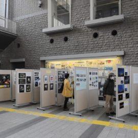 「写真で振り返る平成の多摩区と私」作品展示が始まりました。